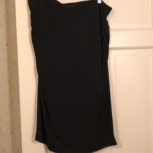 NWT Dolce and Gabbana high waist ruched skirt